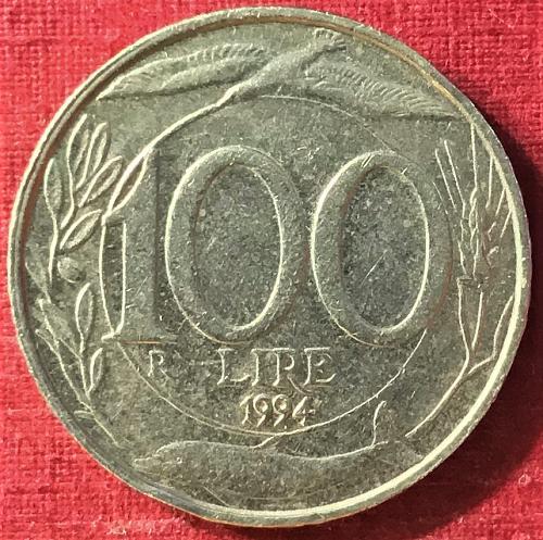 Italy - 1994 - 100 Lire [#1]