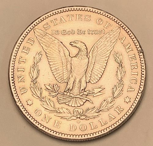 1897-O Morgan Silver Dollar AU [MDL 566]