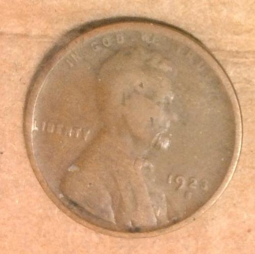 1923 S Lincoln Wheat Cent Small Cent X292