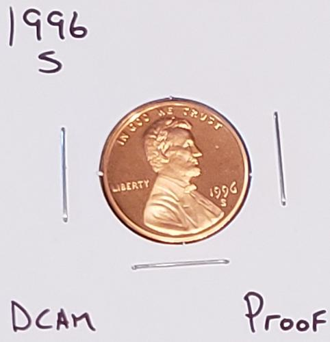 1996 S Lincoln Memorial Cent Small Cent