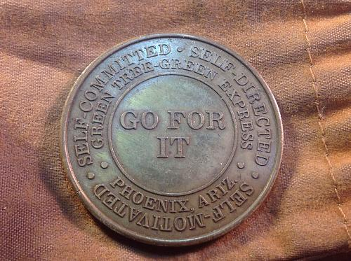 1988 Go For It (Be The Best) Medal