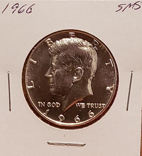 1966  Kennedy Half Dollar - SMS