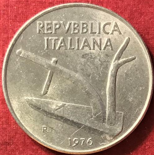 Italy - 1976 - 10 Lire [#1]