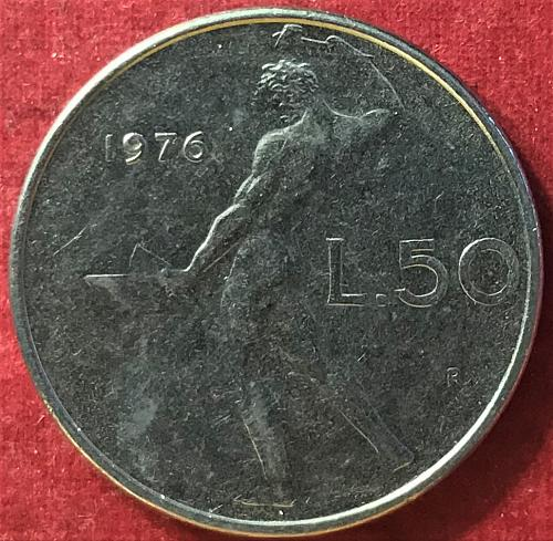 Italy - 1976 - 50 Lire
