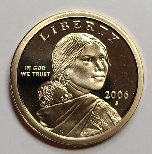 2006-S Sacagawea Dollar Proof-65 (GEM)
