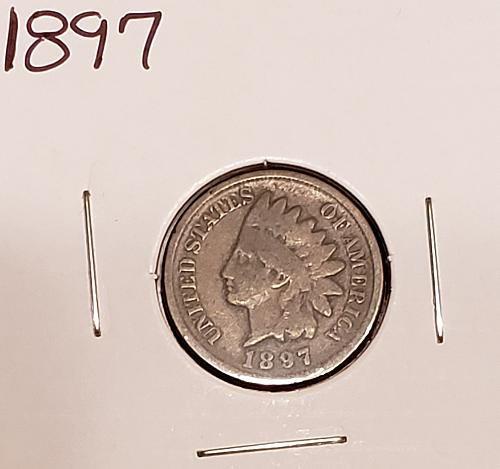1897  Indian Head Cent Small Cent