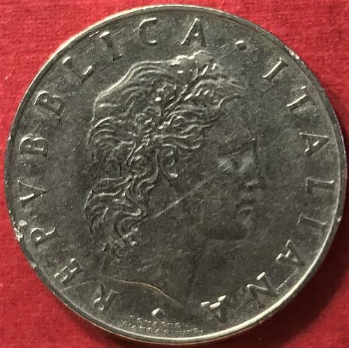 Italy - 1956 - 50 Lire