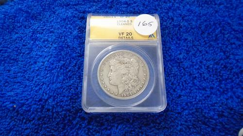 1904-S Morgan Dollar   (#165)