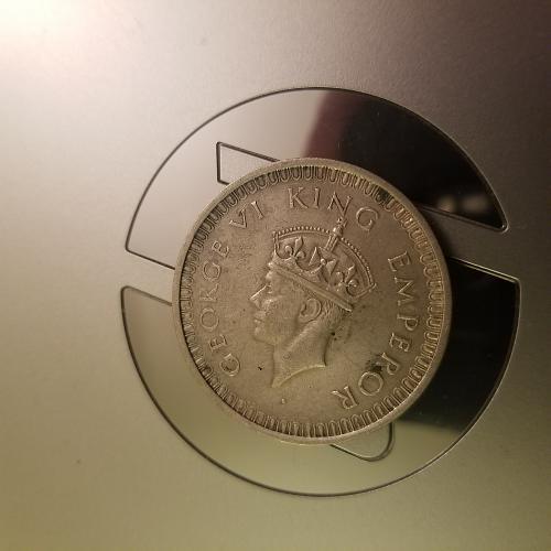 1942 George VI One Rupee