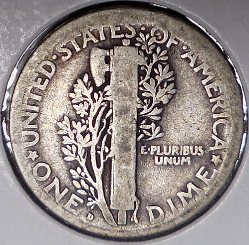 1920-D Mercury Dime