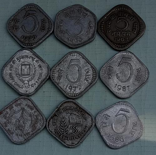 India variety coins..All circulated