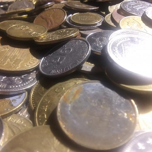 Lot of 500 Tokens
