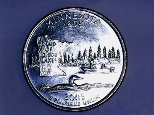 2005 D Minnesota 50 States and Territories Quarter