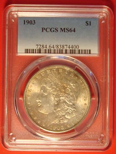 1903 P Morgan Dollar PCGS MS64