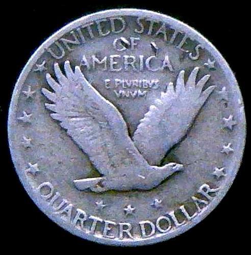 1930 S Standing Liberty Quarters Type 2  V2P15R3