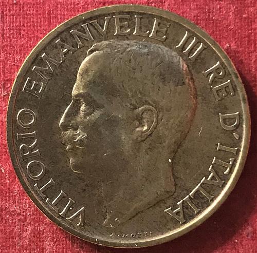 Italy - 1924 - 10 Centesimi [#1]