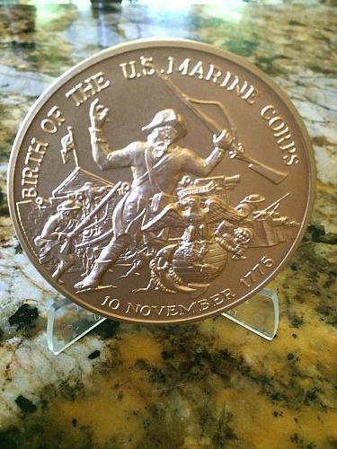 1775-1975 USMC Bi-Centennial   Bronze Commemorative