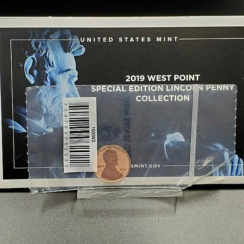 2019 S US Proof 90% Silver Coin Set. Includes W Cent