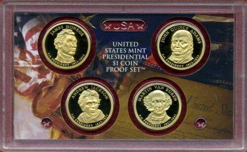2008  S   PROOF   PRESIDENTIAL GOLDEN DOLLARS