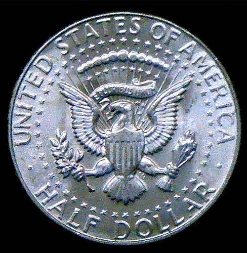 1968 D Kennedy Half Dollars 40% Silver Composition V2P15R4