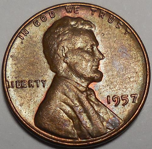 1957-P Lincoln BIE Cent