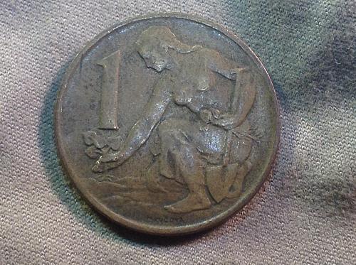 1980 Czech Republic 1 Koruna