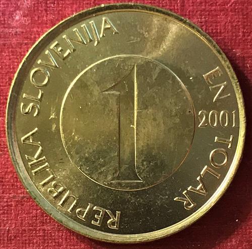 Slovenia - 2001 - 1 Tolar [#3]