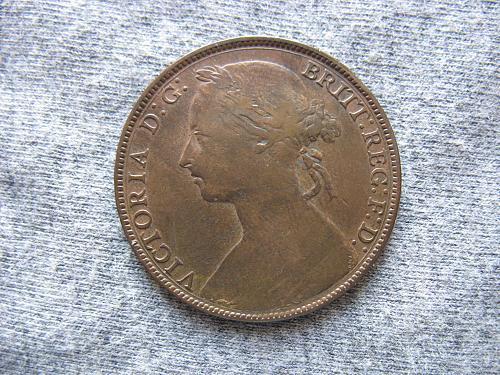 1882-H   UK  Penny