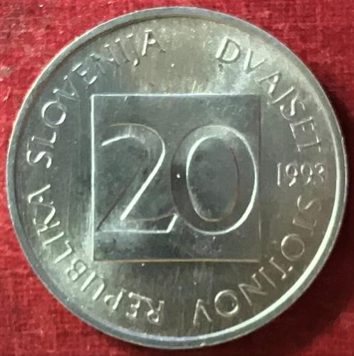 Slovenia - 1993 - 20 Stotinov