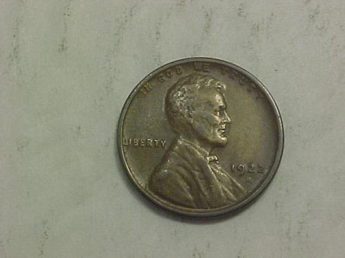 1922 D LINCOLN CENT           aj42