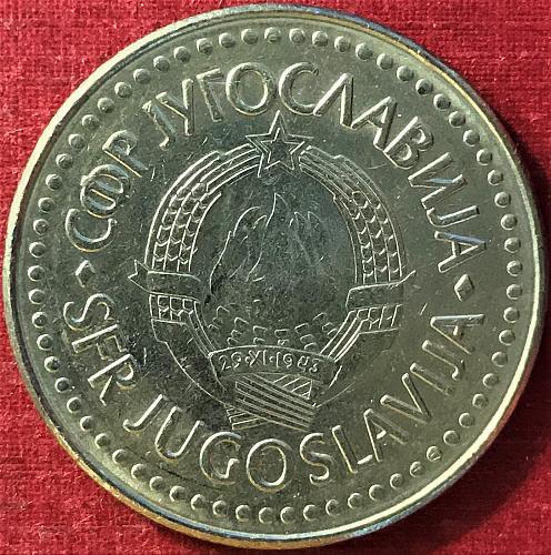 Yugoslavia - 1987 - 100 Dinara [#1]