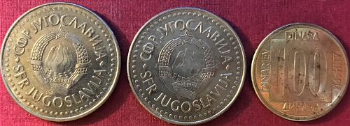 Yugoslavia - 1987-1989 - 100 Dinara [#2]