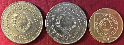 Yugoslavia - 1987-1989 - 100 Dinara [#3]