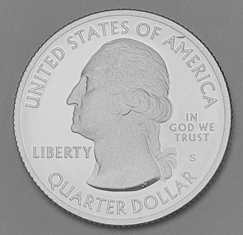 2011-S Silver Proof Quarter- America the Beautiful: Vicksburg [BSWQ 571]