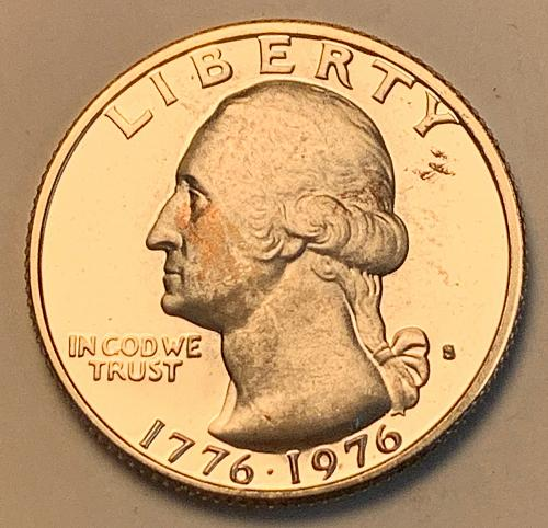 1976-S 40% Silver Proof Washington Quarter [BSWQ 581]