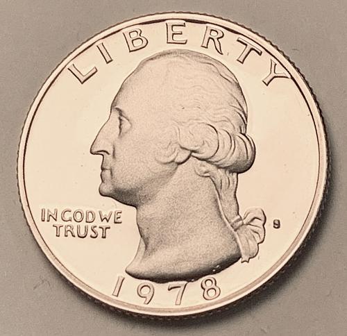 1978-S Proof Washington Quarter [BSWQ 582]