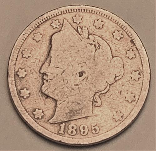 """1885 Liberty """"V"""" Nickel [SVB 289]"""