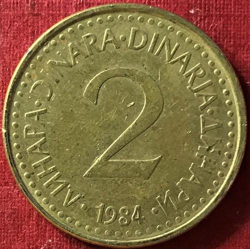 Yugoslavia - 1984 - 2 Dinara
