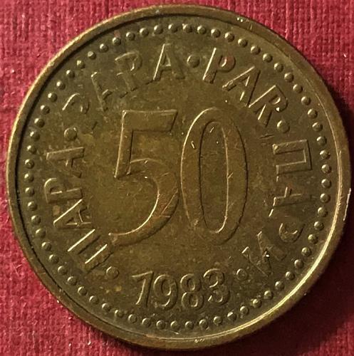 Yugoslavia - 1983 - 50 Para [#3]