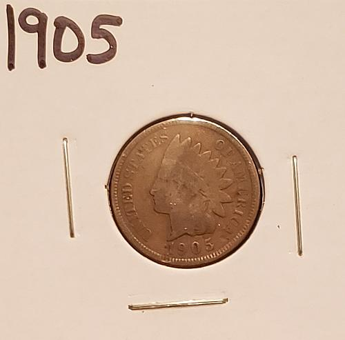 1905  Indian Head Cent Small Cent