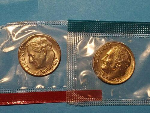 1979 P and D Roosevelt dimes