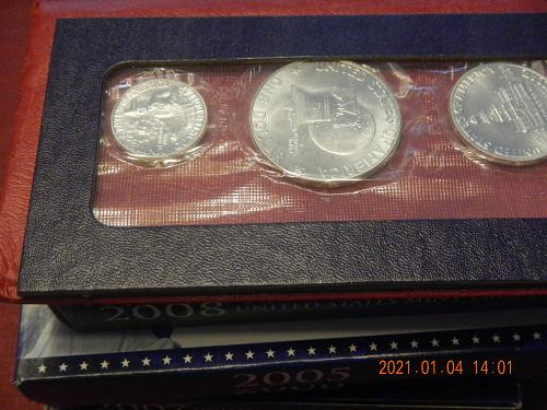 1976 - S 3 Coin Silver  MINT SET Direct from the Mint in OGP