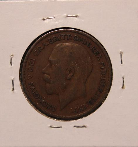 Great Britain 1919 penny