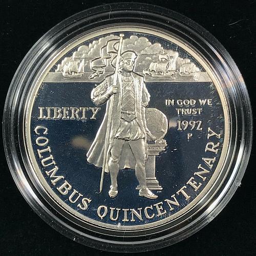 1992 Columbus Quincentenary Coin Set