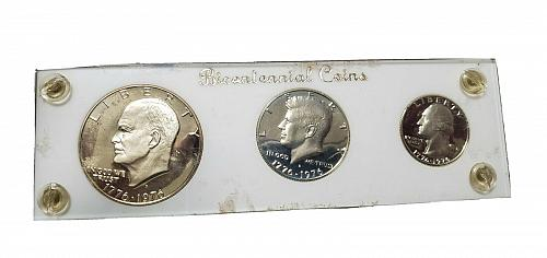 1976 S Proof Sets: Silver Proof - 3 Coin Set