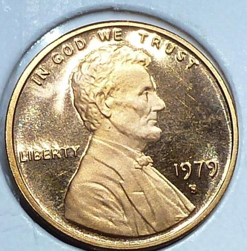 1979-Filled S Gem Proof Cent Memorial Lincoln Cent (F-325)