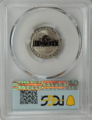 2020 W Jefferson Nickel - Reverse Proof - First Day Issue
