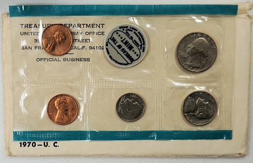 1970 P-D-S US Mint Set
