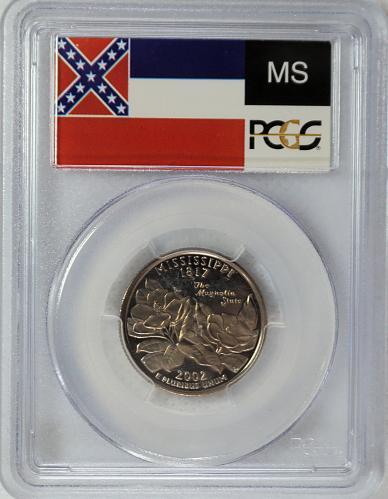 2002  S Mississippi State Quarter == Proof ==