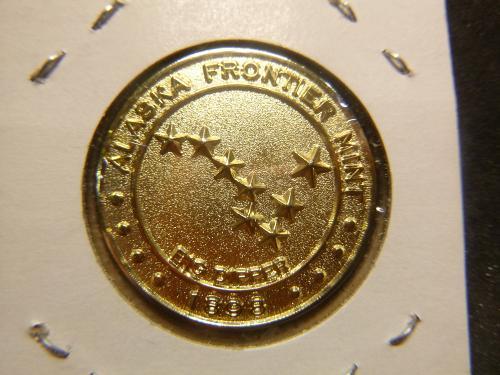 SALMON ALASKA ALASKA BIG DIPPER 1898 COIN